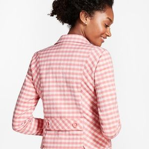 Pink Gingham Double-weave Jacket SOLD OUT ONLINE!!
